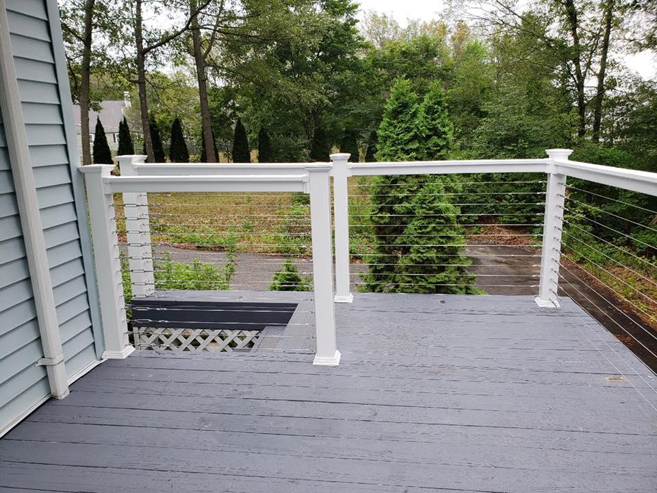 Custom deck fence 3