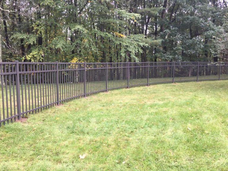 Wrought iron fence 3 Massachusetts