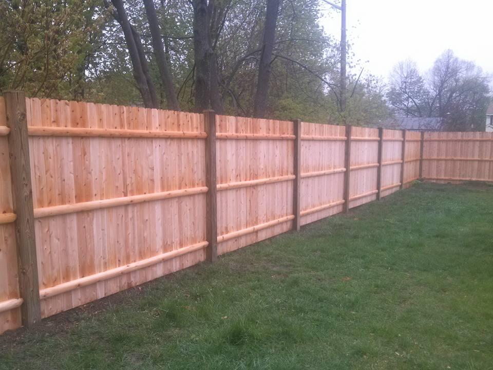 cedar wood fence 2