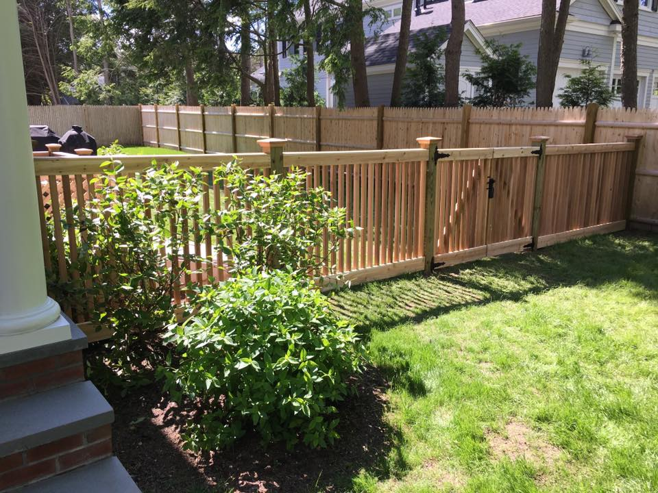 cedar wood fence repair