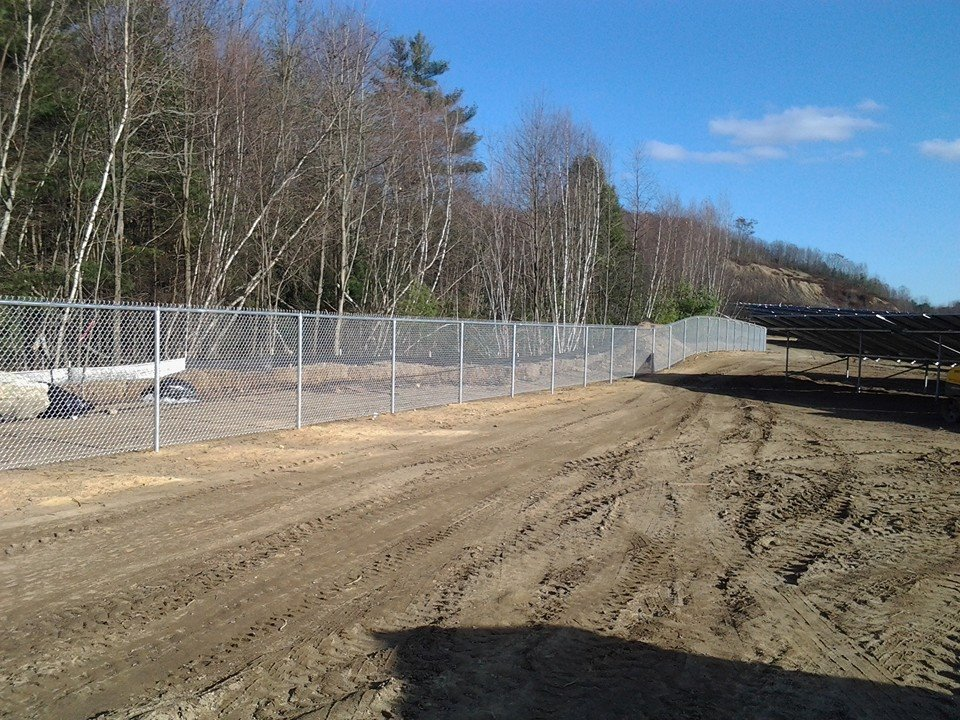 chain link fence installation commericial fence 11