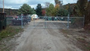 security fence chain link