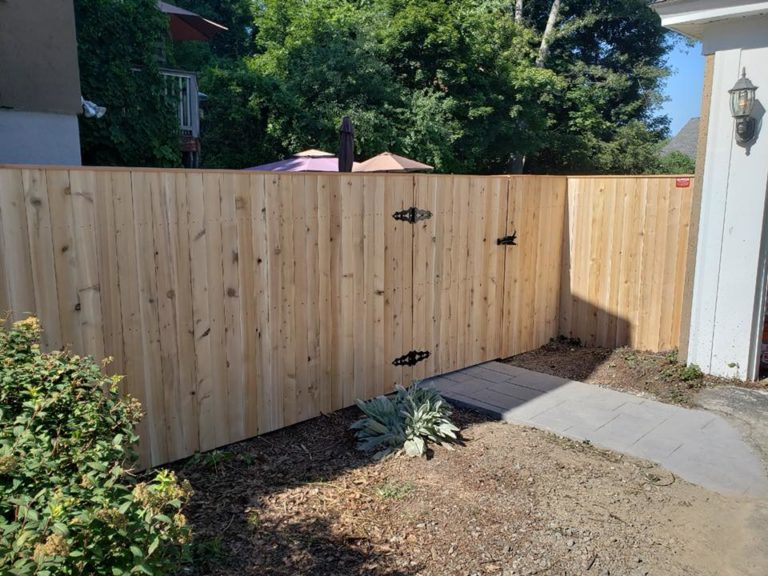 wood fence repair sutton