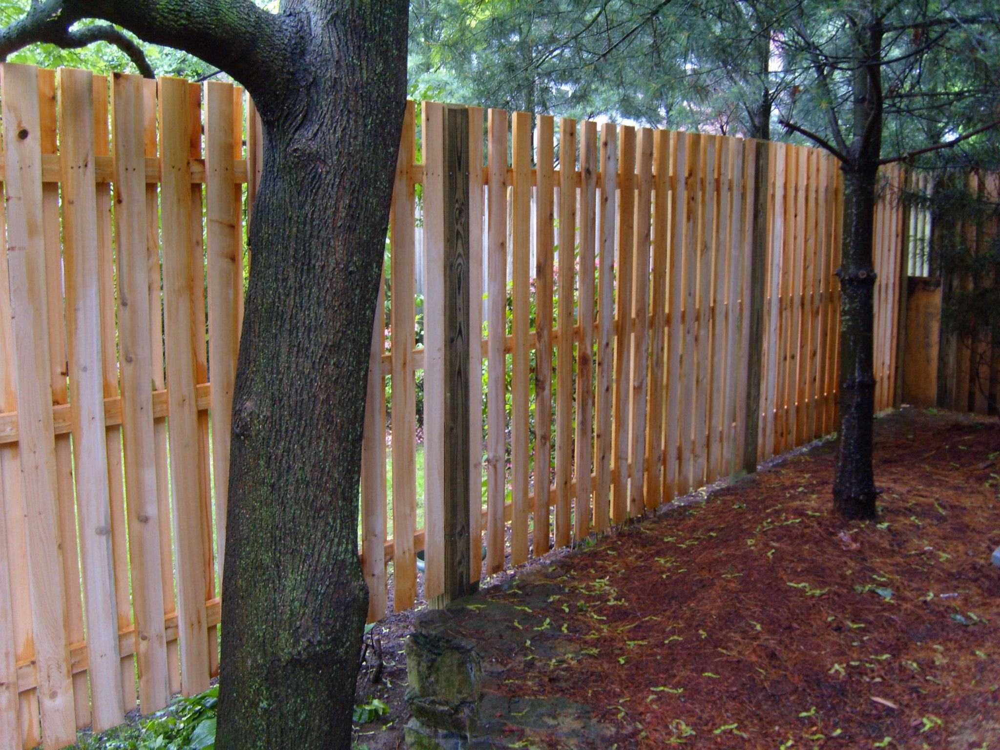 wooden fence company worcester